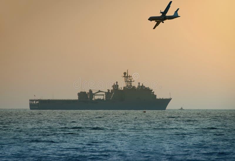 ναυτικό εμείς θωρηκτό στοκ εικόνα
