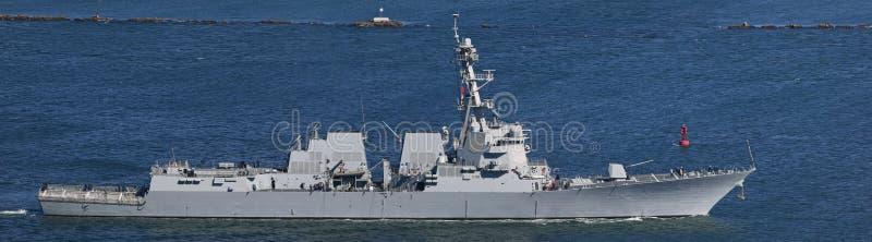 ναυτικό καταστροφέων εμ&epsilo στοκ εικόνα