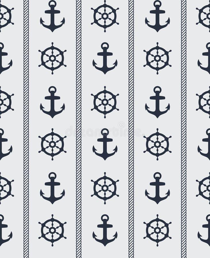 ναυτικό πρότυπο άνευ ραφής απεικόνιση αποθεμάτων