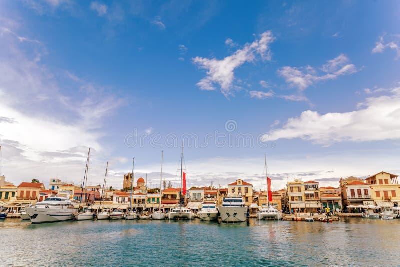 Ναυτικό του νησιού Aegina στοκ φωτογραφία