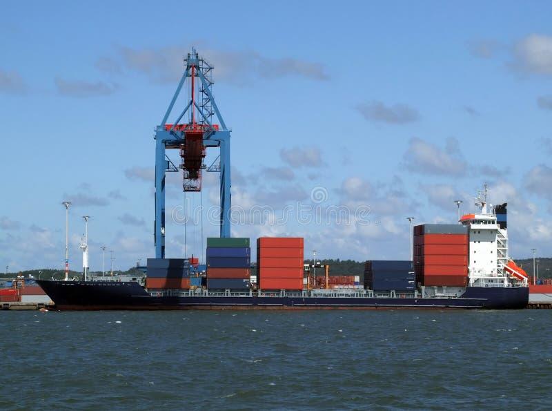 ναυτιλία βιομηχανίας φορτίου στοκ εικόνες
