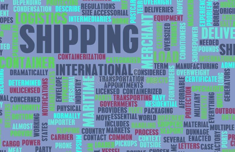 ναυτιλία βιομηχανίας απεικόνιση αποθεμάτων