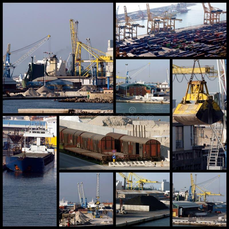 ναυτιλία κολάζ στοκ φωτογραφίες με δικαίωμα ελεύθερης χρήσης