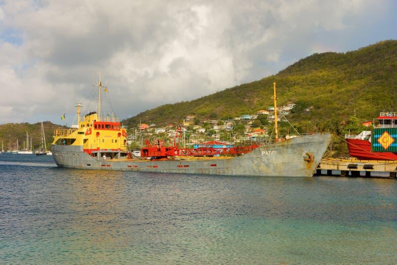 Ναυτιλία στις Καραϊβικές Θάλασσες στοκ φωτογραφία με δικαίωμα ελεύθερης χρήσης