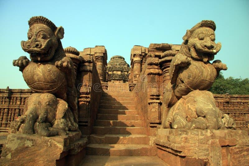 ναός ήλιων στοκ φωτογραφία