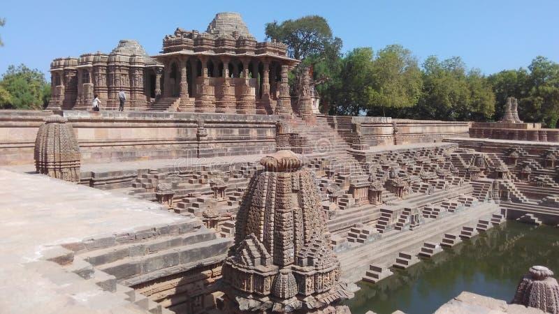 Ναός ήλιων του Gujarat στοκ φωτογραφία