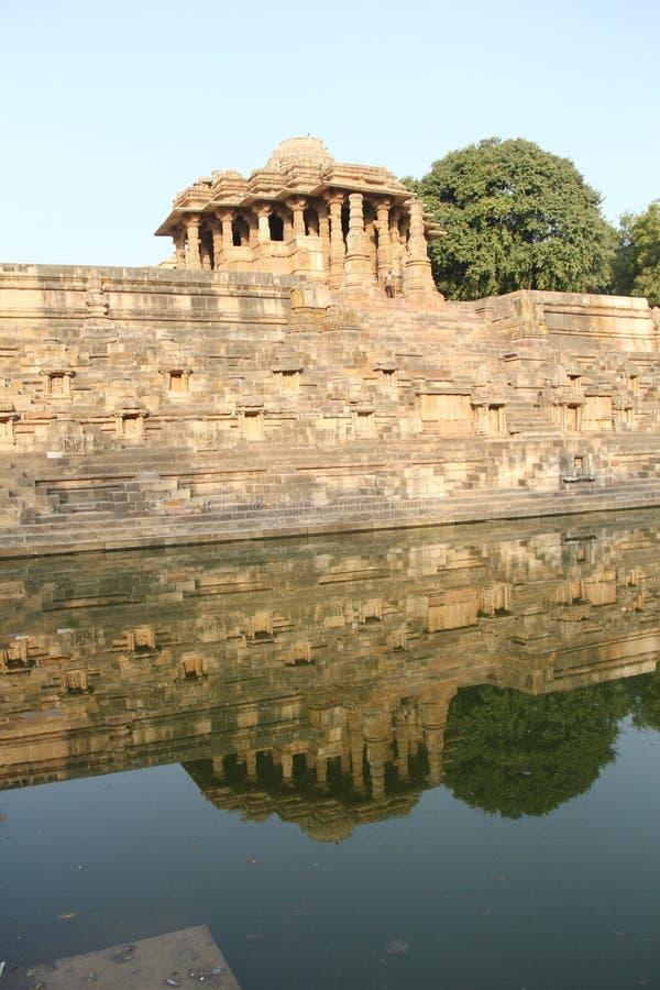 Ναός ήλιων Modhera σύνθετος στοκ φωτογραφίες
