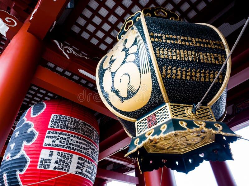 Ναός ή Asakusa TempleTokyo, Ιαπωνία Sensoji 22 Σεπτεμβρίου 2018 στοκ φωτογραφίες