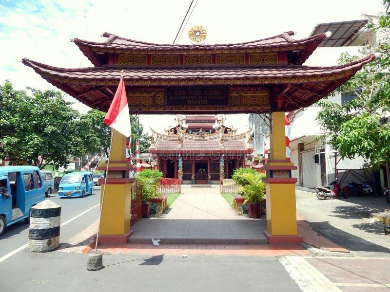 Ναός απαγόρευσης hin kiong στοκ φωτογραφία με δικαίωμα ελεύθερης χρήσης