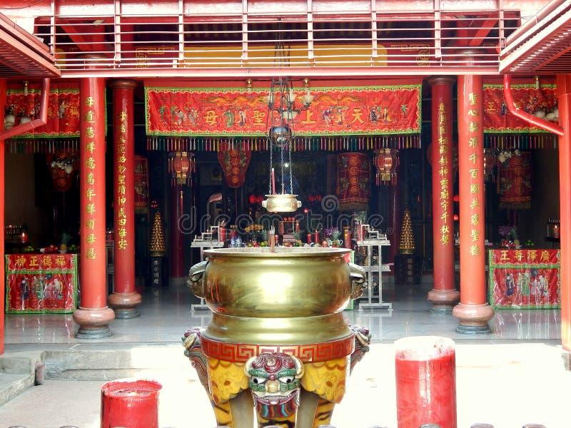 Ναός απαγόρευσης hin kiong στοκ εικόνες