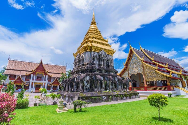Ναός ατόμων Chiang Wat στοκ φωτογραφία