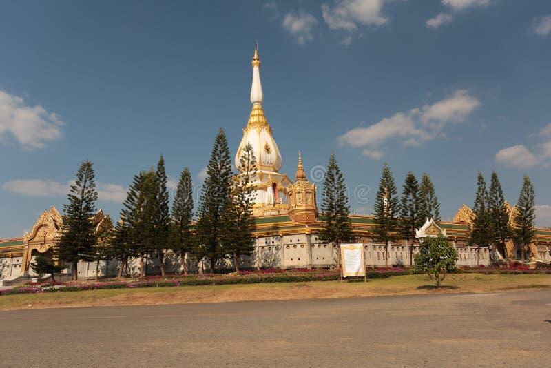 Ναός βουδισμού στην Ταϊλάνδη στοκ εικόνα