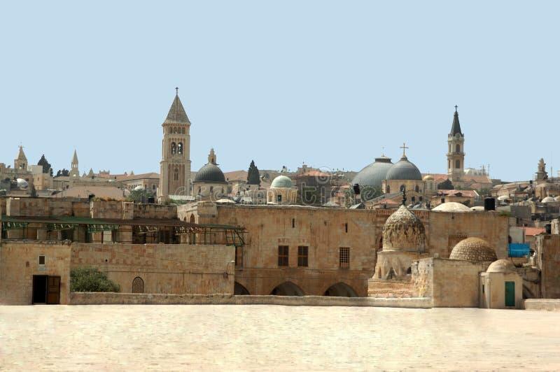 ναός βουνών της Ιερουσα&lam στοκ εικόνες με δικαίωμα ελεύθερης χρήσης