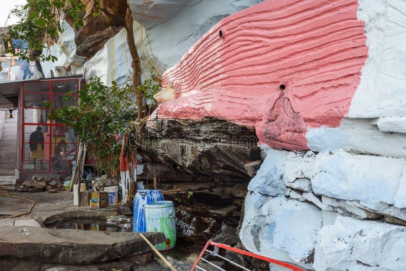 Ναός Γκαράντια Μαχάντεφ Κότα Ινδία στοκ εικόνες