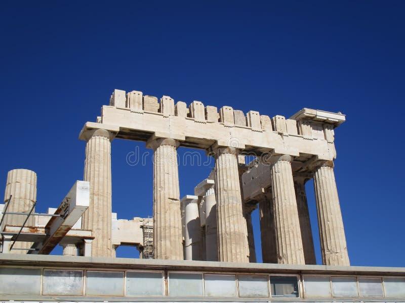 Ναός Ελλάδα Parthenon στοκ φωτογραφία με δικαίωμα ελεύθερης χρήσης