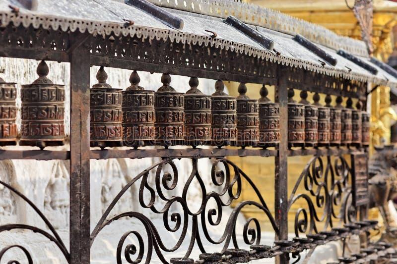 ναός επίκλησης πιθήκων τυ&mu στοκ φωτογραφία