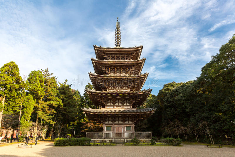 Ναός Κιότο Daigoji στοκ φωτογραφίες με δικαίωμα ελεύθερης χρήσης