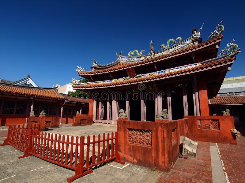 ναός Κομφουκίου Ταϊνάν στοκ εικόνες