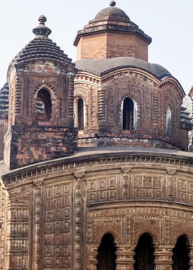 Ναός κληρονομιάς σε Bishnupur στοκ φωτογραφίες