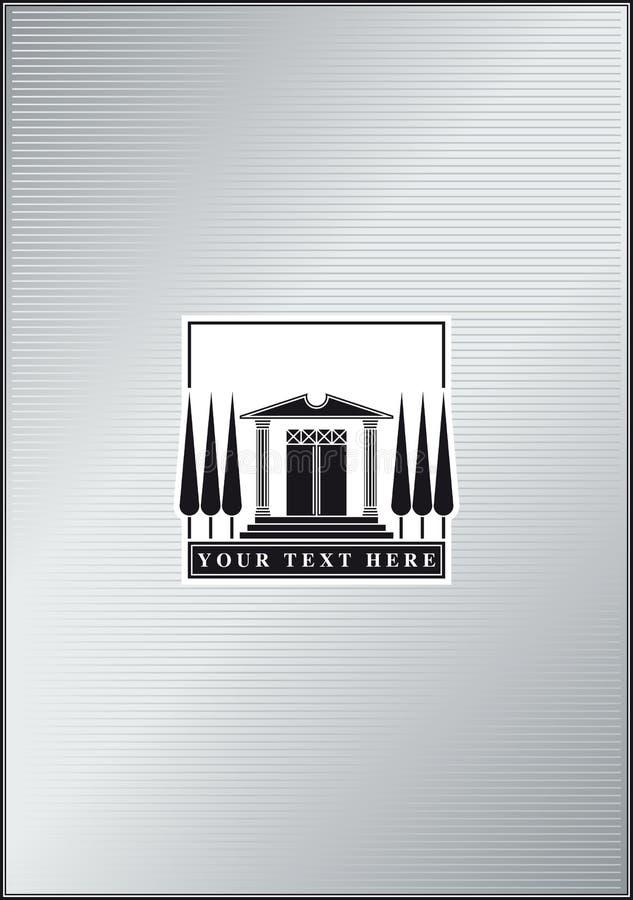 ναός λογότυπων απεικόνιση αποθεμάτων