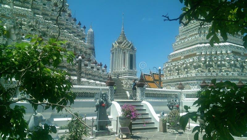 Ναός Μπανγκόκ Arum στοκ εικόνα