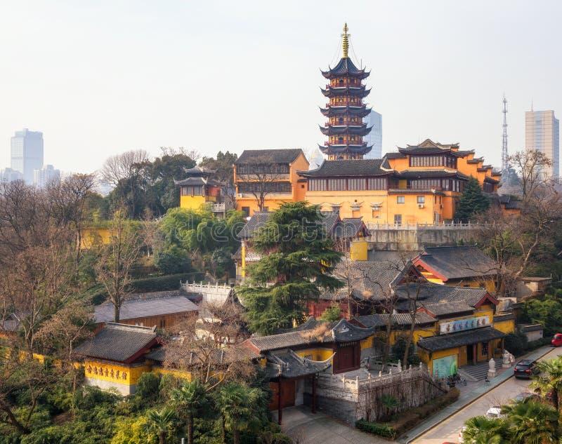 Ναός Ναντζίνγκ Κίνα Jiming στοκ εικόνες με δικαίωμα ελεύθερης χρήσης