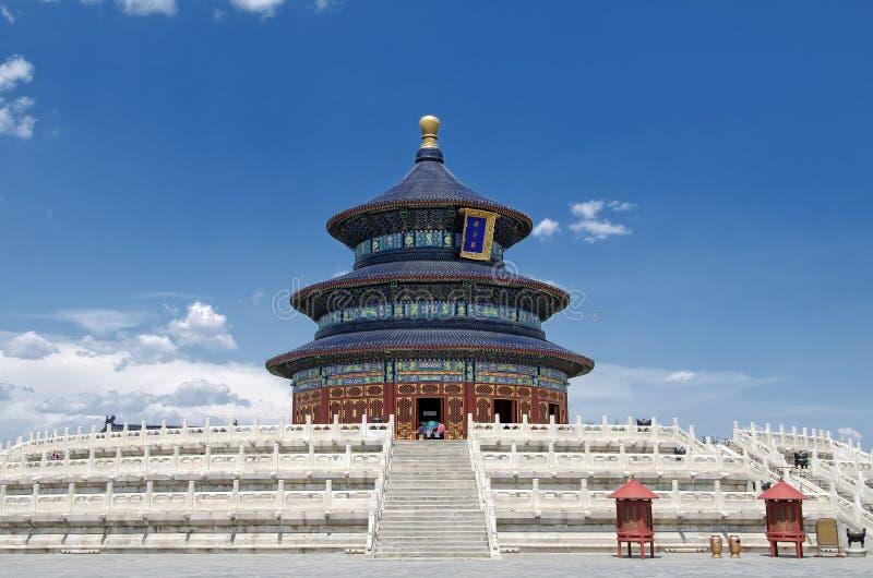 ναός ουρανού του Πεκίνου στοκ εικόνες με δικαίωμα ελεύθερης χρήσης