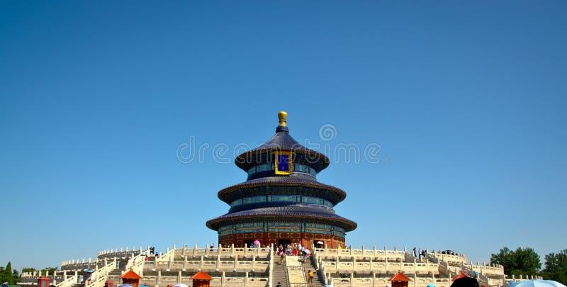 ναός ουρανού του Πεκίνο&upsi στοκ εικόνα με δικαίωμα ελεύθερης χρήσης