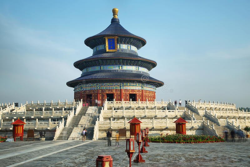 ναός ουρανού του Πεκίνο&upsil στοκ εικόνα με δικαίωμα ελεύθερης χρήσης