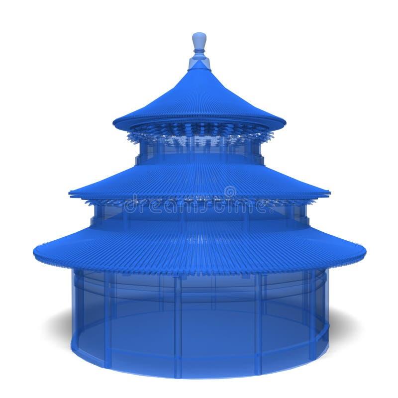 ναός ουρανού ελεύθερη απεικόνιση δικαιώματος