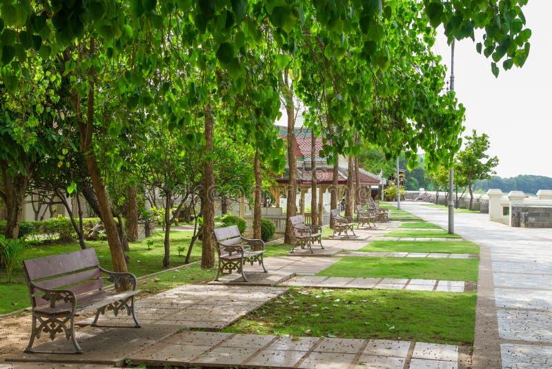 Ναός πάρκων στοκ εικόνα με δικαίωμα ελεύθερης χρήσης