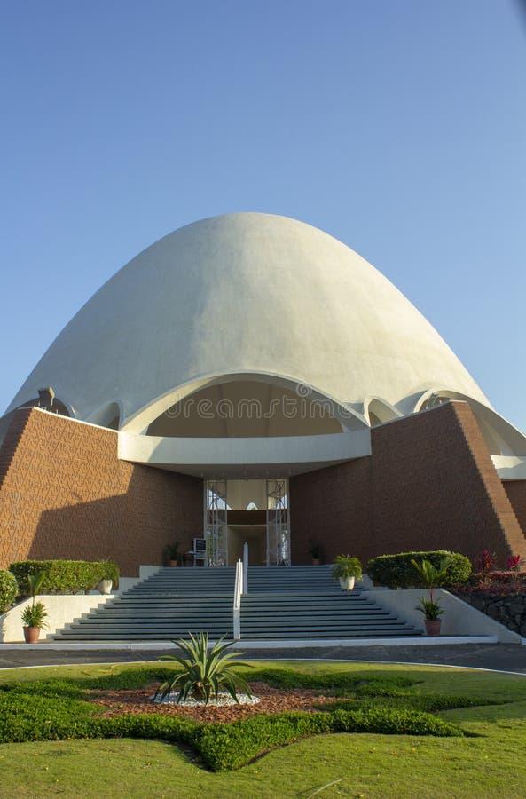 Ναός Παναμάς Bahai στοκ εικόνες
