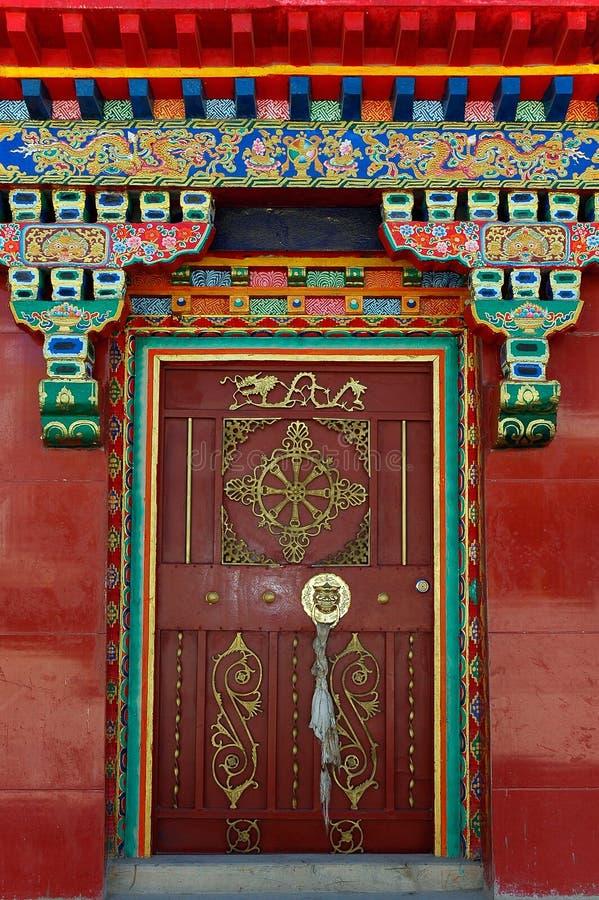 ναός πορτών στοκ φωτογραφία με δικαίωμα ελεύθερης χρήσης