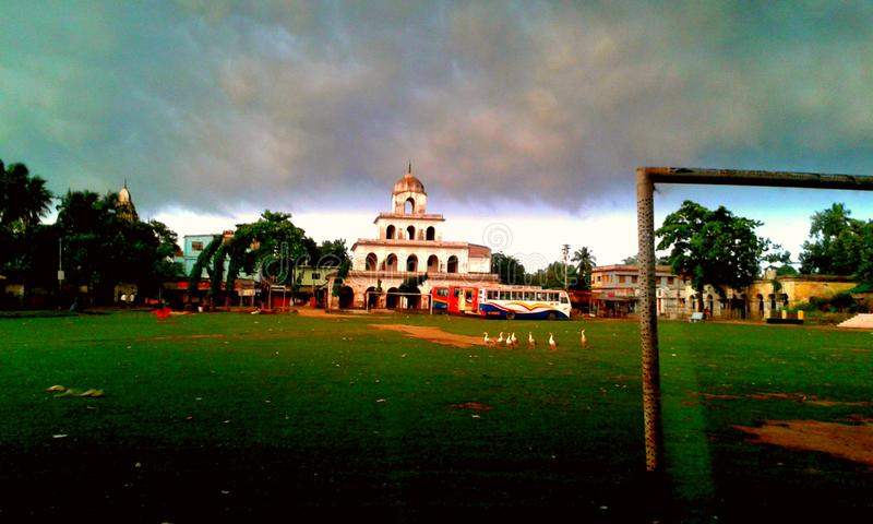 ναός 1000 πορτών στοκ εικόνα