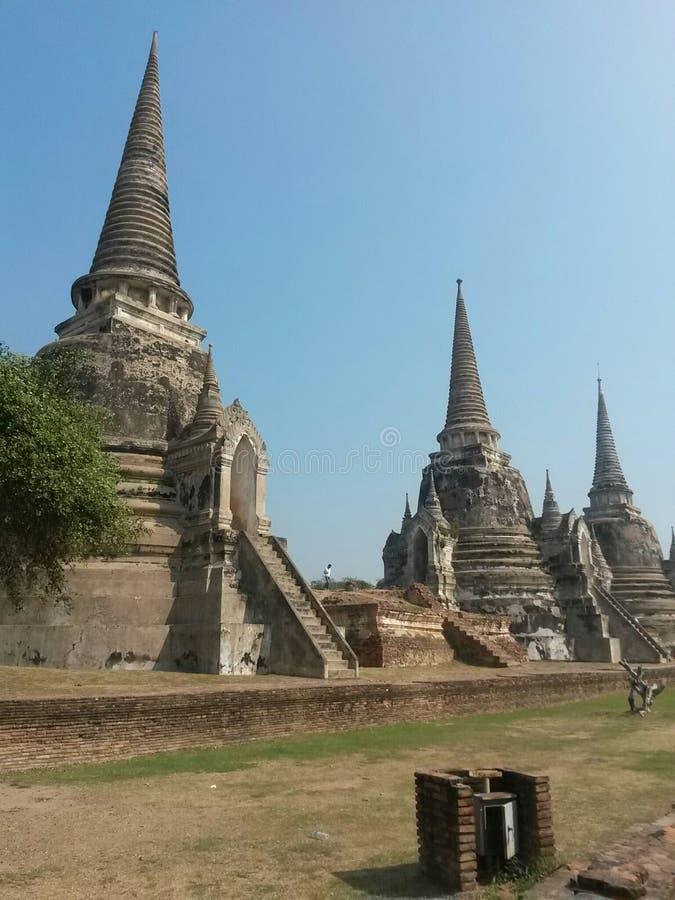 Ναός σε Ayutthaya, Ταϊλάνδη, Νοτιοανατολική Ασία στοκ εικόνες