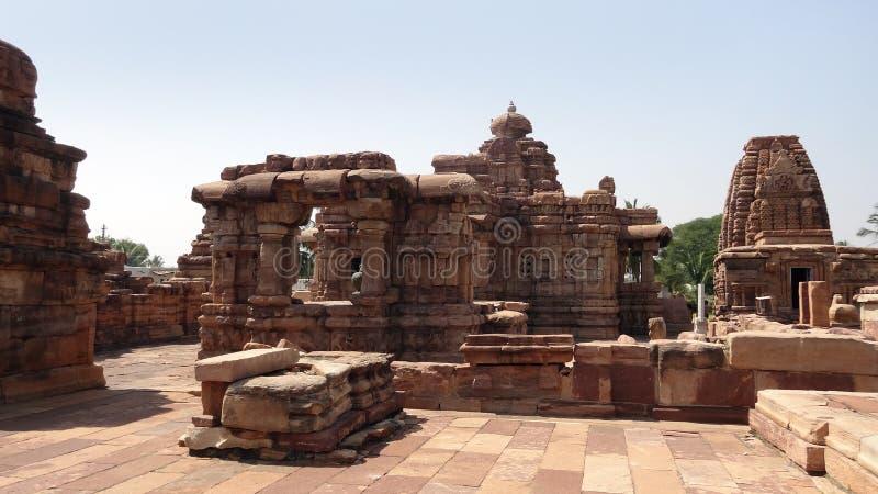 Ναός σε Pattadakal στοκ φωτογραφία