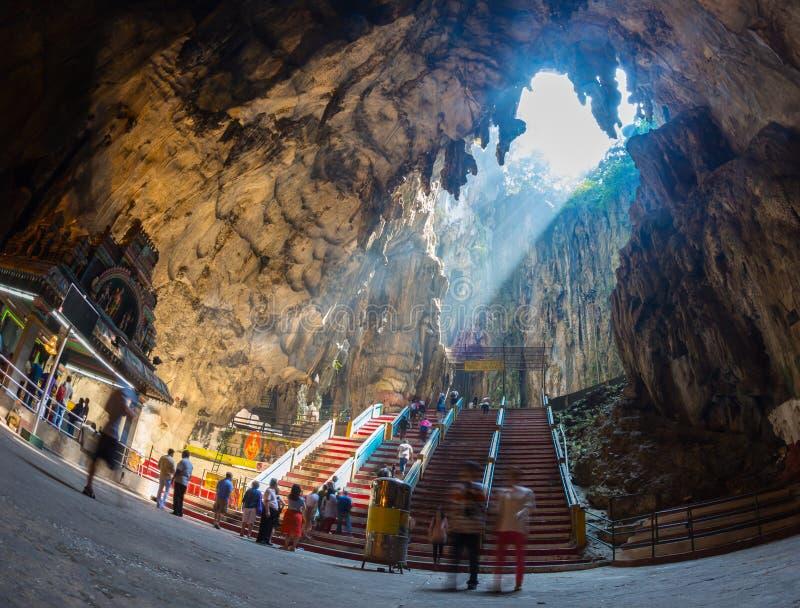 Ναός σπηλιών Batu στοκ εικόνα