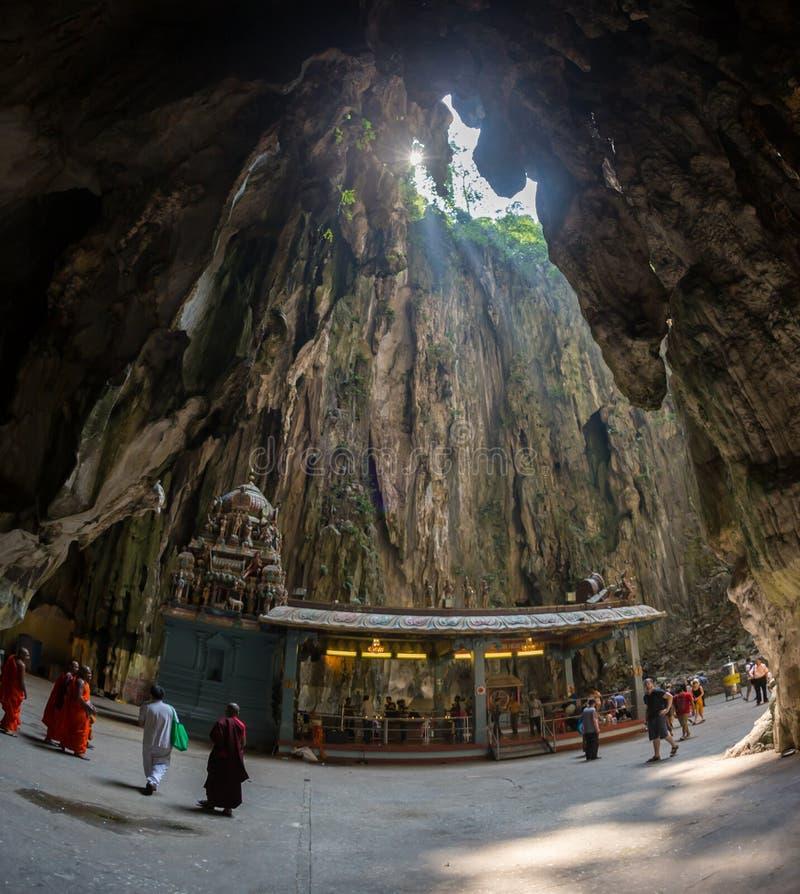 Ναός σπηλιών Batu στοκ εικόνες με δικαίωμα ελεύθερης χρήσης