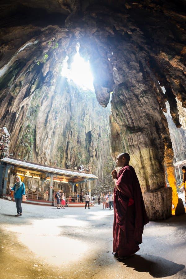 Ναός σπηλιών Batu στοκ φωτογραφία με δικαίωμα ελεύθερης χρήσης