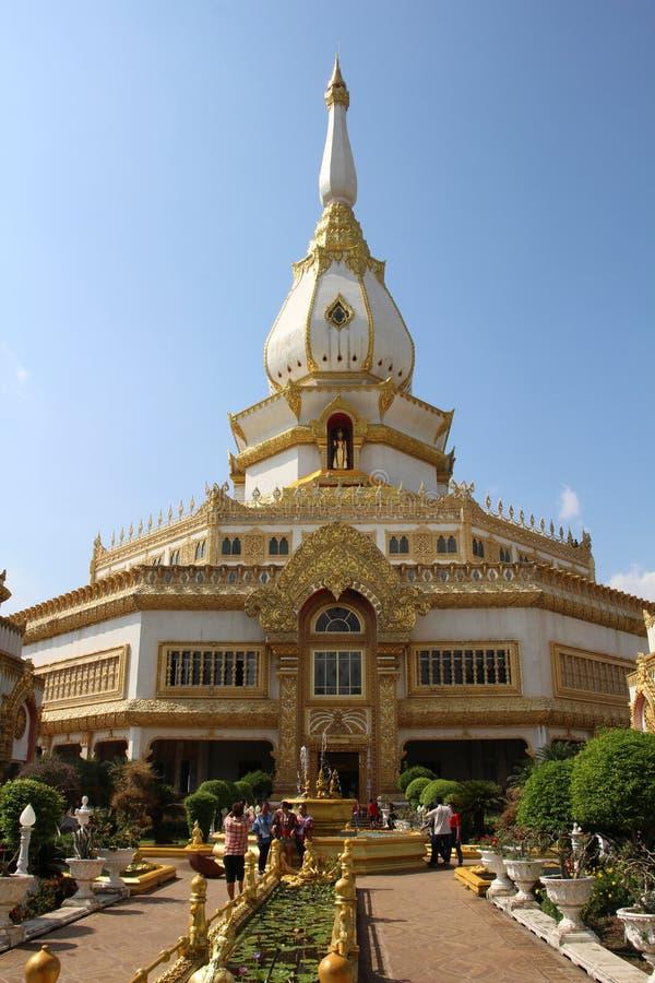 Ναός στις σημαντικές βουδιστικές θέσεις της Ταϊλάνδης στοκ φωτογραφία
