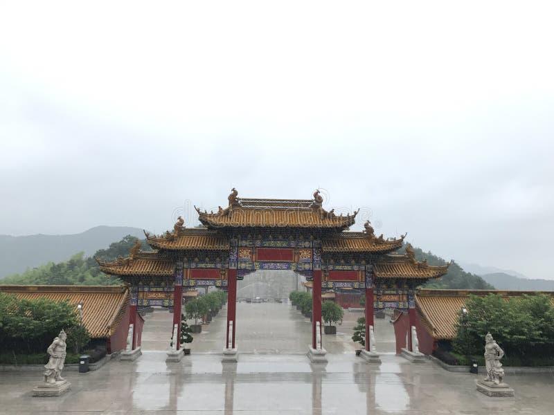 ναός στο shaoxin στοκ εικόνες