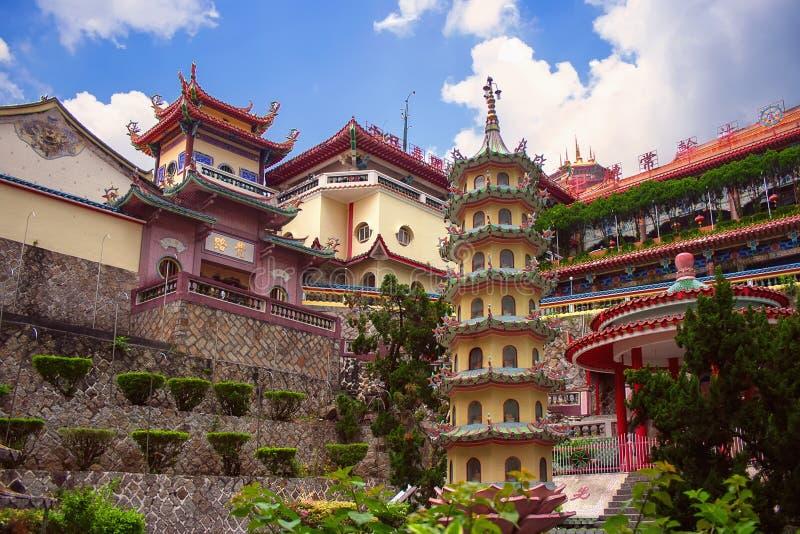 Ναός σύνθετος του Si Kek Lok, Penang στοκ φωτογραφία με δικαίωμα ελεύθερης χρήσης