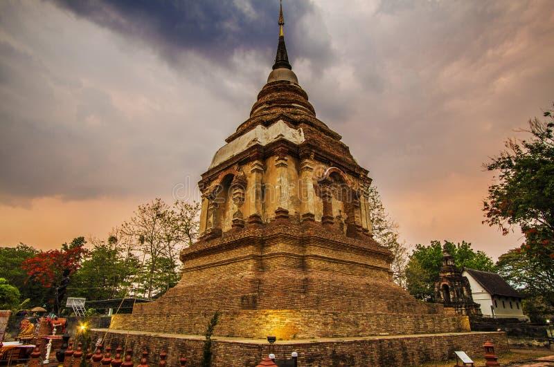 Ναός, ταϊλανδικός ναός, Wat Pra Σινγκ, mai Chiang, Ταϊλάνδη, στοκ φωτογραφίες με δικαίωμα ελεύθερης χρήσης
