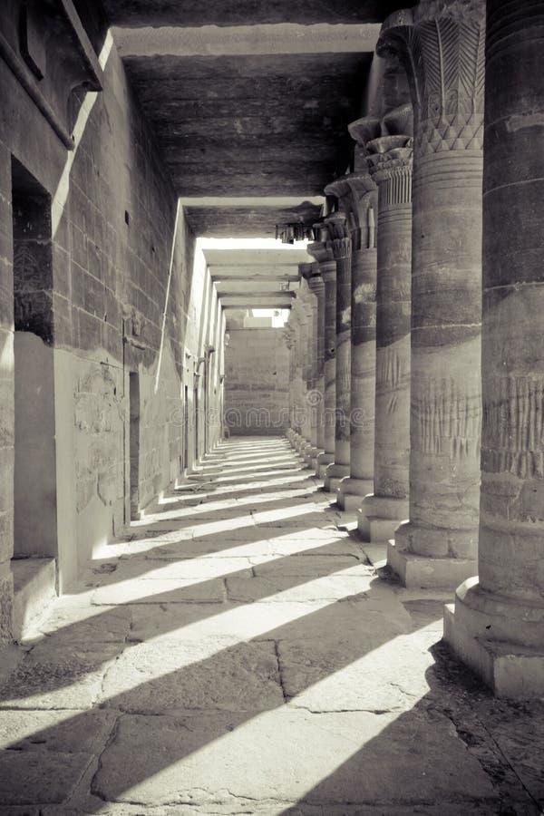 ναός της Αιγύπτου στοκ εικόνες με δικαίωμα ελεύθερης χρήσης