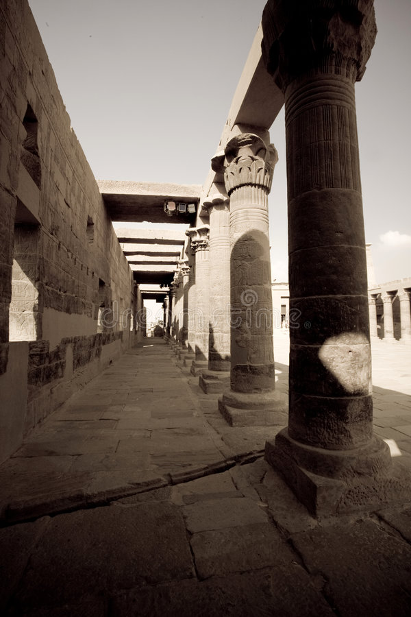 ναός της Αιγύπτου στοκ εικόνα με δικαίωμα ελεύθερης χρήσης