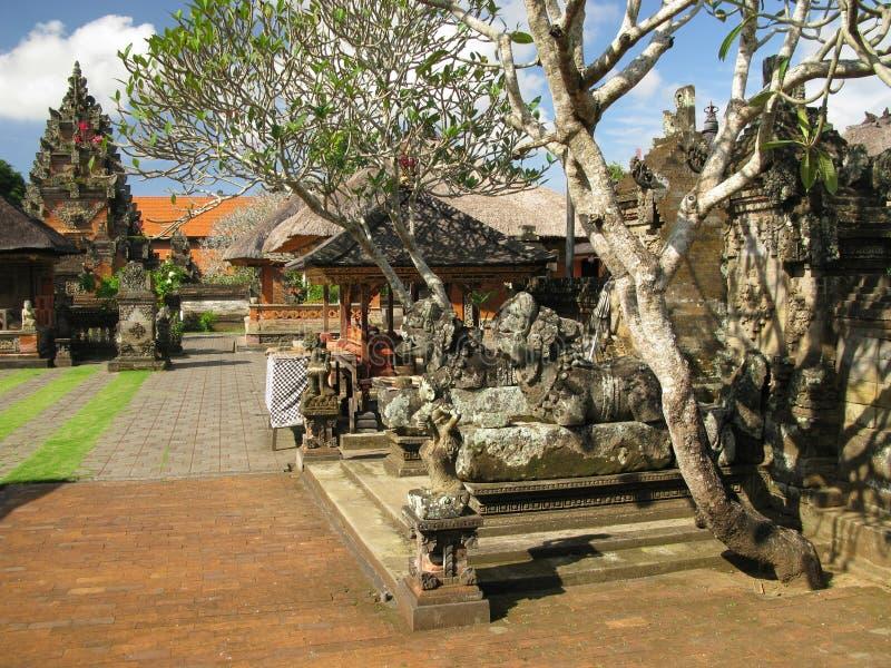 ναός της Ασίας Μπαλί Ινδον&et στοκ εικόνα