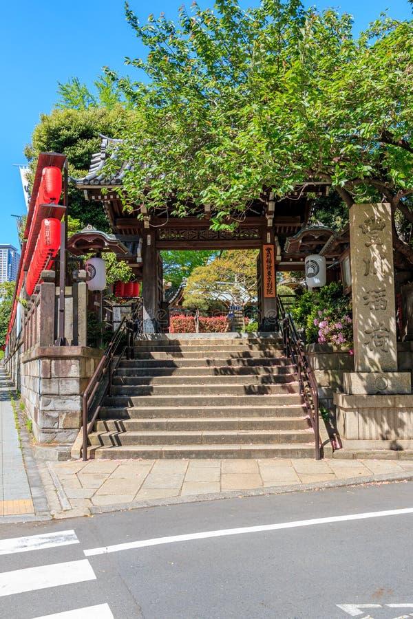 Ναός της Ιαπωνίας των λαρνάκων Inari Toyokawa στοκ φωτογραφία με δικαίωμα ελεύθερης χρήσης
