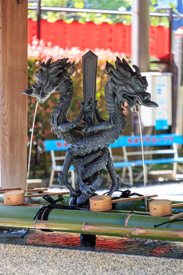 Ναός της Ιαπωνίας των λαρνάκων Inari Toyokawa στοκ φωτογραφία
