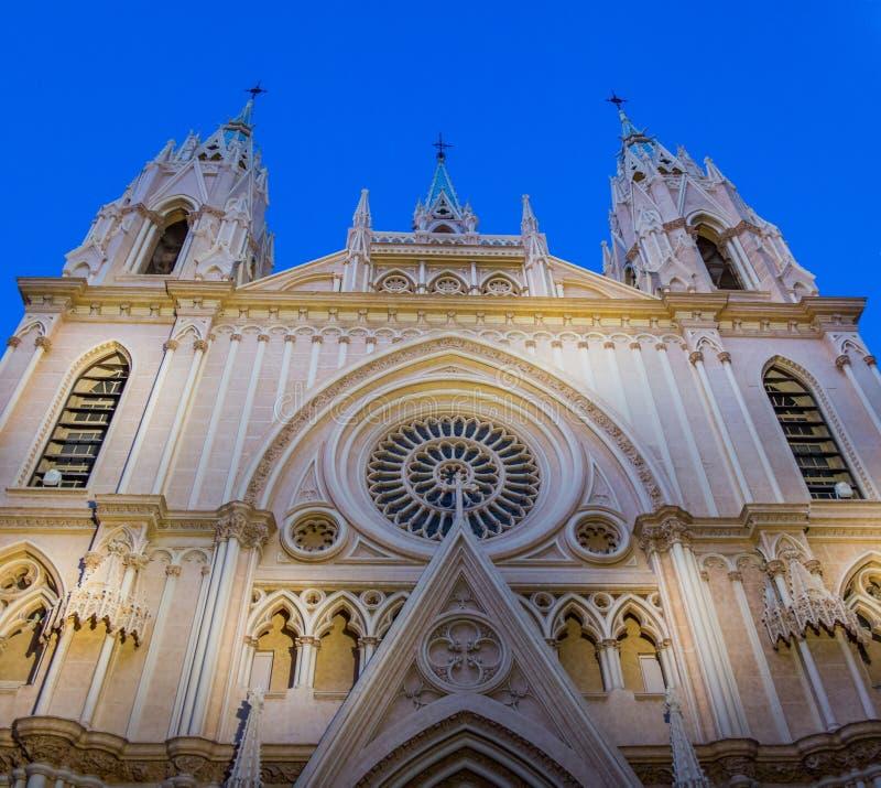 Ναός της ιερής εκκλησίας καρδιών, Μάλαγα, Ισπανία ΙΙ στοκ φωτογραφία