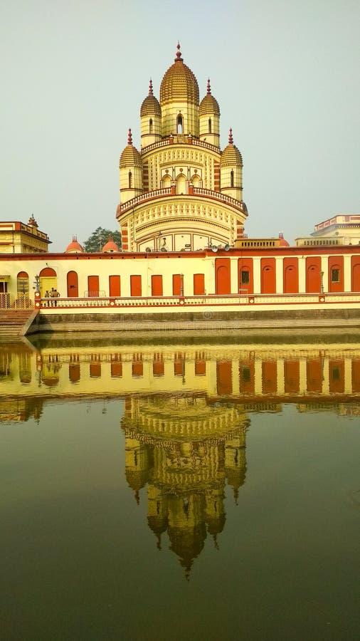 Ναός της Kali Dakshineswar στοκ εικόνες με δικαίωμα ελεύθερης χρήσης